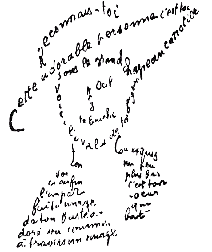Guillaume Apollinaire -Calligramme